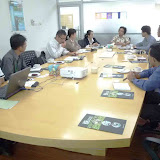 サラワク森林公社SFCでの打合わせ / Meeting at Sarawak Forestry Corporation (SFC).