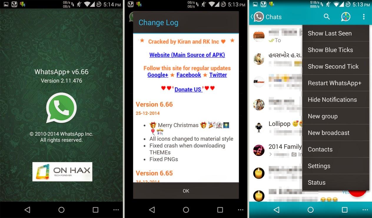 [CHRISTMAS EDITION] WhatsApp Plus v6.66 Cracked APK