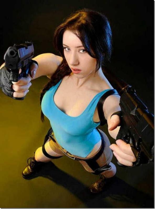Os melhores cosplays de Lara Croft 14