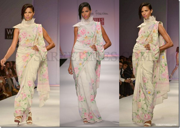 James_Ferriera_White_Printed_Saree