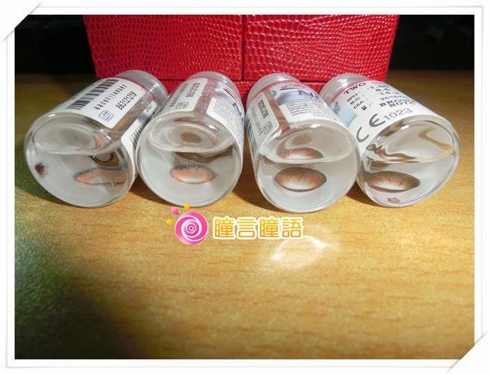 韓國NEO隱形眼鏡-自然美心機棕1