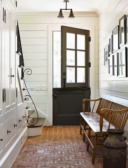 wood plank entry