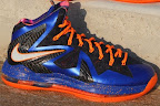 nike lebron 10 ps elite blue black 2 04 Release Reminder: Nike LeBron X P.S. Elite Superhero