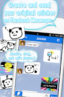 Screenshot of DrawChat for Facebookmessenger