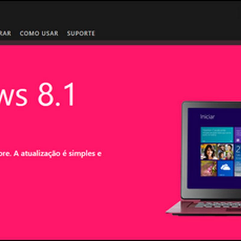 Windows 8 - saiba como atualizar para a versão Windows 8.1