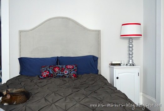 velvet nailhead trim headboard8
