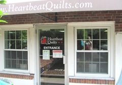 Heartbeat quilts storefront