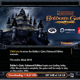 Baldurs Gate enhanced edition donwloader