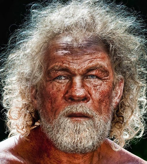 Neanderthal Nick Nolte