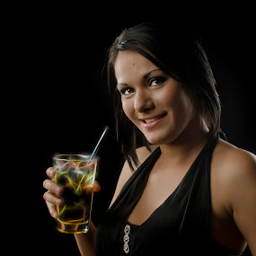 Magic Beverage by Steve Forbes - People Portraits of Women