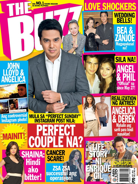 John Lloyd Cruz covers The Buzz Oct 2012