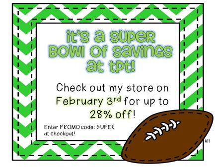 Super Bowl Sale