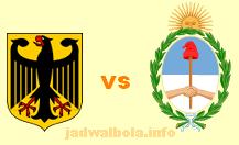 Jerman vs Argentina