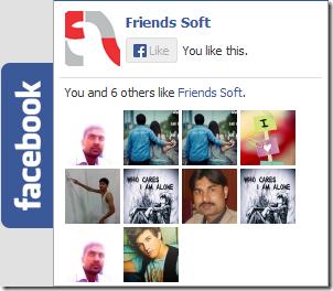 Facebook Sliding Like Box