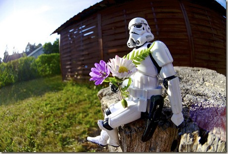 Stormtrooper Waiting For His Date