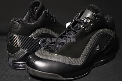 nike zoom lebron 6 zoom power black 4 01 #TBT: Closer Look at the Unreleased Nike Zoom Power Blackout