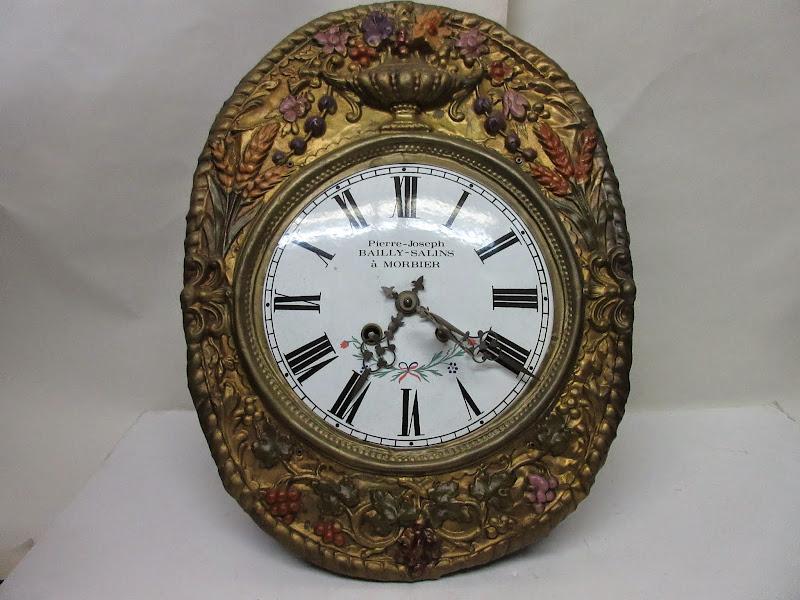 Morbier French Comtoise Clock