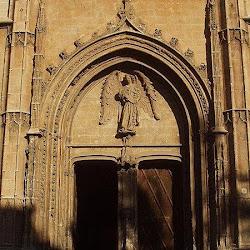 91 - Angel Sagrera - Portada del Angel de la Lonja de Palma de Mallorca