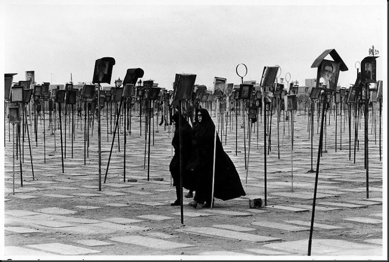 Iran, il cimitero dei martiri di Qom, 1979