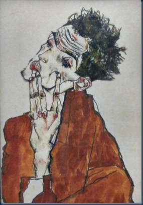 Autorretrato Egon Schiele