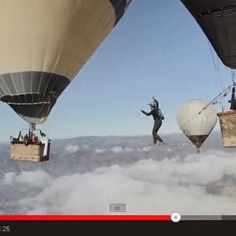 Ανάμεσα σε δυο αερόστατα