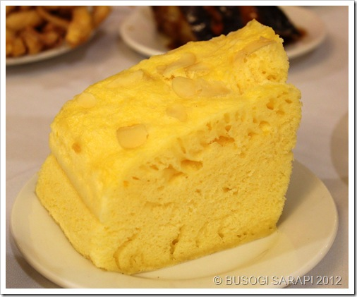 how to make chinese steamed sponge cake