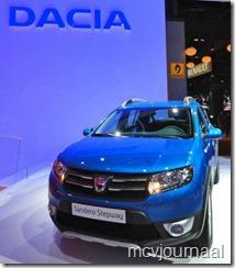 Dacia stand Parijs 2012 11