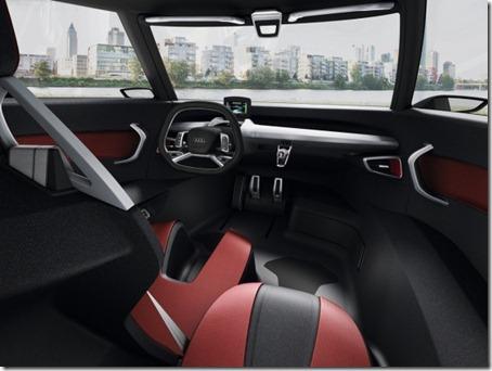 2011 Audi Urban Concept interior