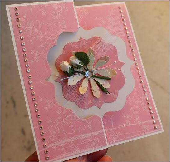 Hochzeits Glückwunsch Karte Flip it Cards Wedding Rose 09