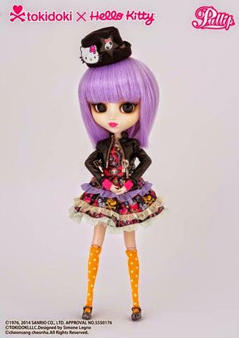 Pullip Violetta Tokidoki x Hello Kitty 03