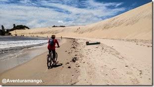 Passando ao lado das dunas de Genipabu (3)