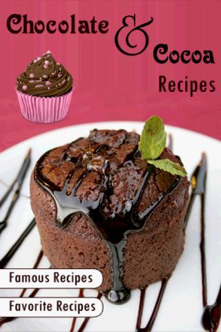 Chocolate and Cocoa Recipes