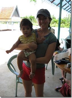 cute Thai baby