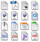 Extensões de arquivo