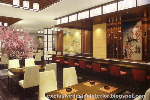 Japan restaurant design interior