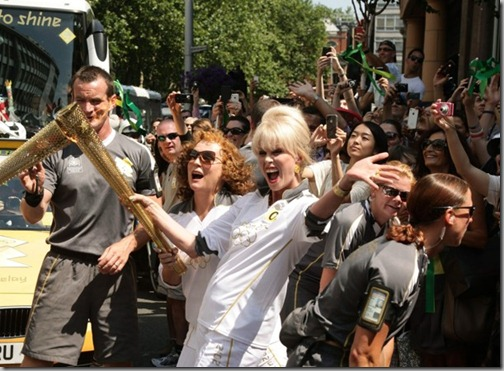London Olympics AbFab