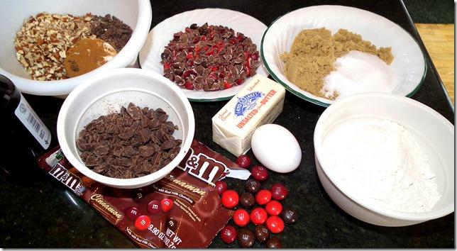 Chocolate Cinnamon Blondies 12-14-11