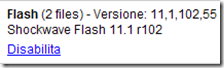 Flash (2 files) Plug-in Chrome