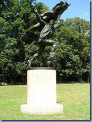 2620 Pennsylvania - Gettysburg, PA - Gettysburg National Military Park Auto Tour - Stop 7 - Memorial to the Soldiers and Sailors of the Confederacy