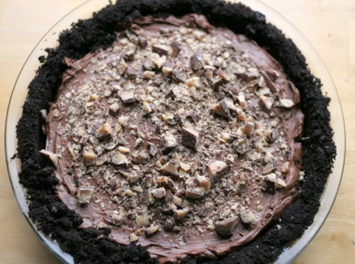 chocolate toffee pie 1