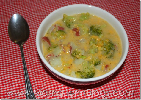 Simplified Dinners eBook Meal: Broccoli Cheese Soup