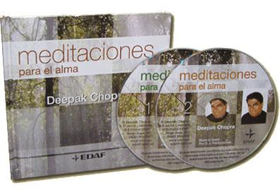 MEDITACIONES PARA EL ALMA, Deepak Chopra [ Audio CD ] – Inducir a la calma a través de la armonía y la belleza de sonidos llenos de matices