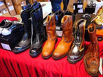 Raf Simmons Dr Marten gold, D&G shoes