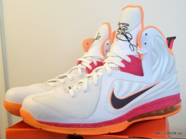 PE Spotlight Nike LeBron 9 Floridians HWC Player Exclusive