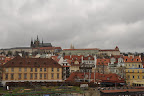 View of the Prague Castle from Charles Bridge