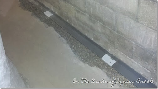 basement french drain