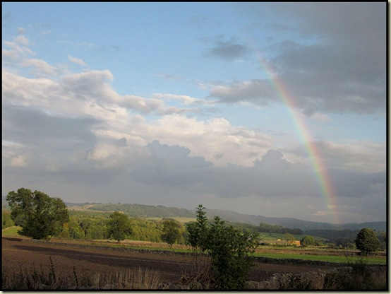 Rainbow at Monsal Head