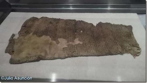 Bolsa de esparto del enterramiento de Monte Bolón - Elda - Alicante
