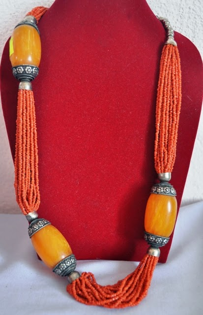 Pote Necklace with beads