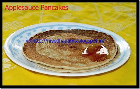 Applesauce Pancakes - IMG_3357